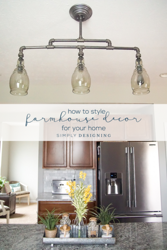 how to style farmhouse decor for your home