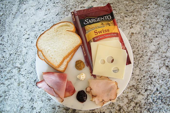 Copycat Monte Cristo Sandwich - ingredients