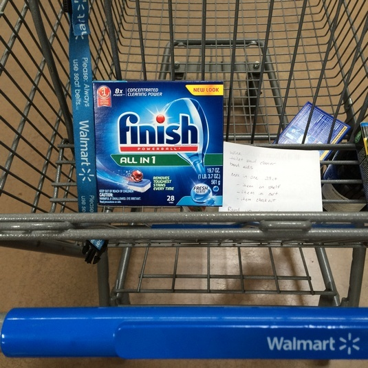 Celeb Baby Laundry Discovers Finish and Jet Dry at Walmart While Saving BIG with Ibotta Deal 2