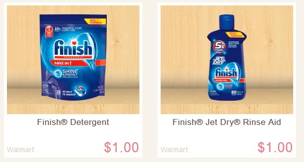 Ibotta Finish and Jet Dry Offers