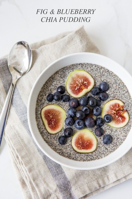 Fig & Blueberry Chia Pudding