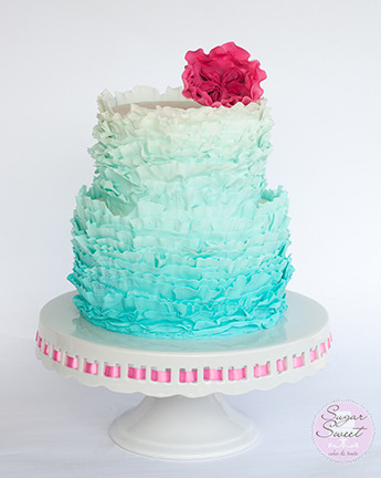 Fondant Frills by Sugar Sweet Cakes and Treats
