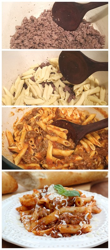 Easy as 1, 2, 3 Make it tonight 15 Minutes One pot Tyson Beef Marinara Penne at Refresh Restyle