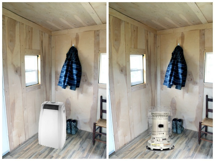 Man cave hunting cabin design - great ideas for a cabin in the woods!