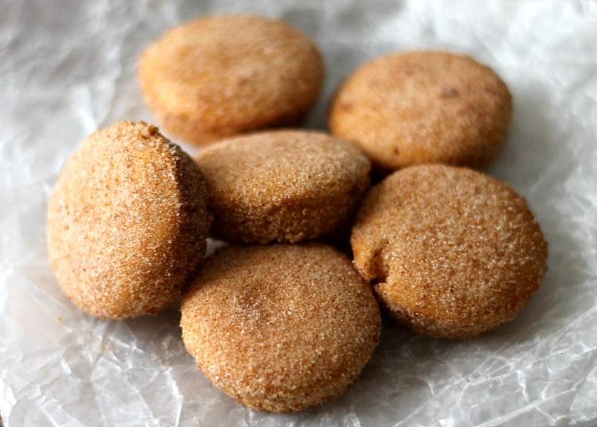 Cinnamon Sugar Sweet Potato Puffs