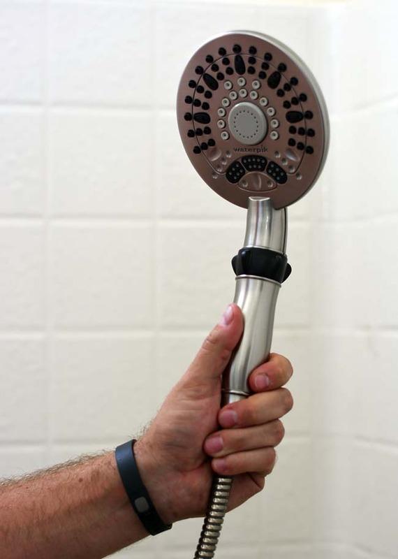 waterpik dual shower head images