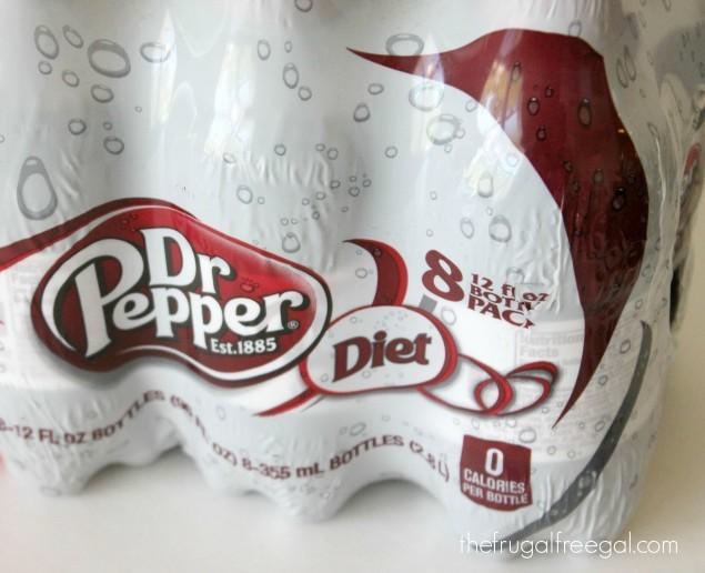 Diet Dr pepper sweeps