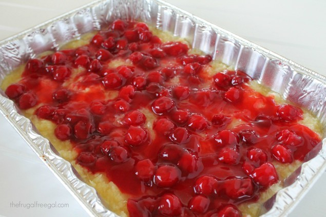 Cherry Pineapple Dump Cake Recipe 2
