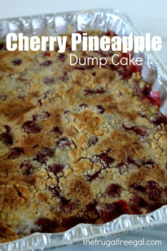 Cherry Pineapple Dump Cake Recipe 5 - 1