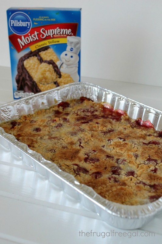Cherry Pineapple Dump Cake Recipe 7