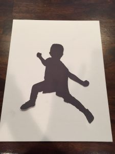 You can do amazing things with your Cricut Explore Air 2, like cut a silhouette of someone!