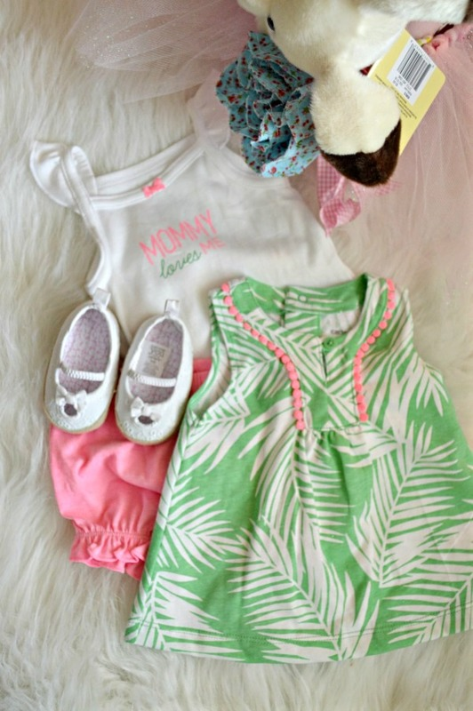 Olivia's First Easter Outfit from Kohls + DIY Tutu Basket