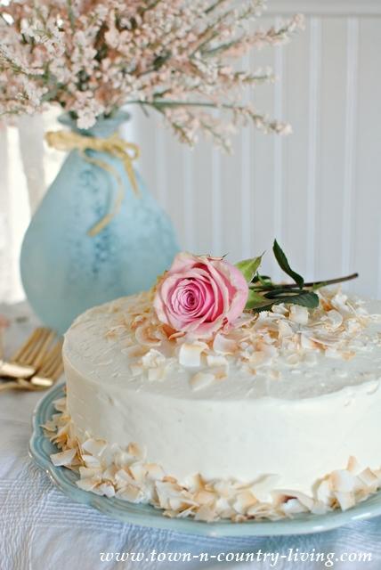 Elegant Spring Cake