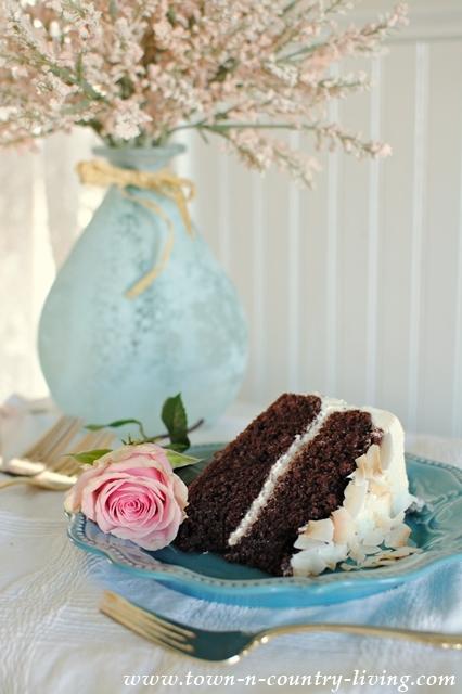 Elegant Spring Cake. #MixUpaMoment