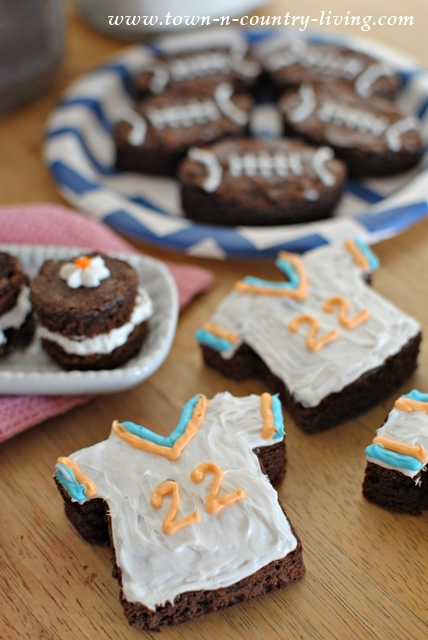 Game Day Brownies for Football Season