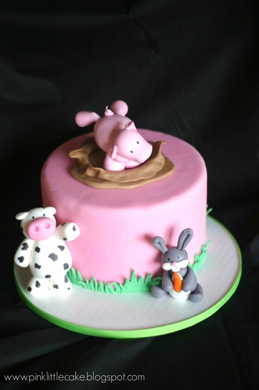 Cake Decorating Techniques With Fondant : Pink Little Cake: Cake Topper Techniques: Fondant Animals ...