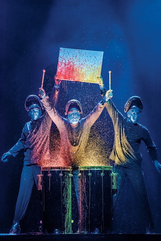 Blue Man Group at Luxor - plus a chance to win tickets!
