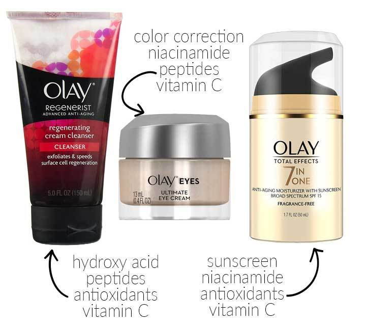 Olay Skin Care Routine