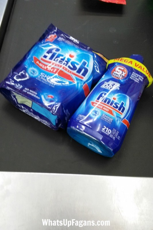 Love Finish dishwasher detergent and Finish Jet Dry! They do such a great job cleaning my dishes.