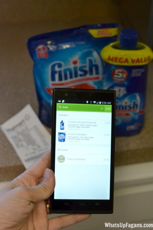 Love Finish dishwasher detergent and Finish Jet Dry! They do such a great job cleaning my dishes. Plus, I saved $3 on the ibotta app at Walmart.