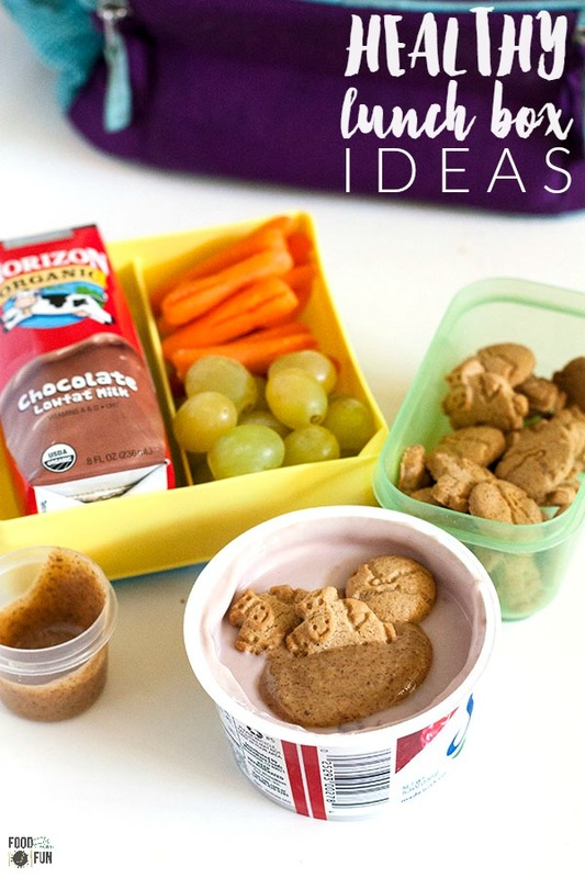 Here's an Easy & Healthy Lunch Box Idea that is made with real food that your kids will love!