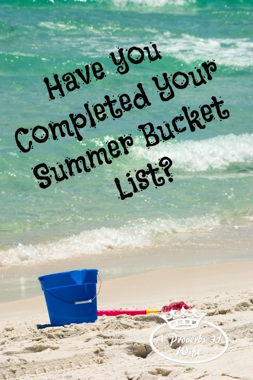 What's on our summer bucket list and ways we find the money to cross things off!
