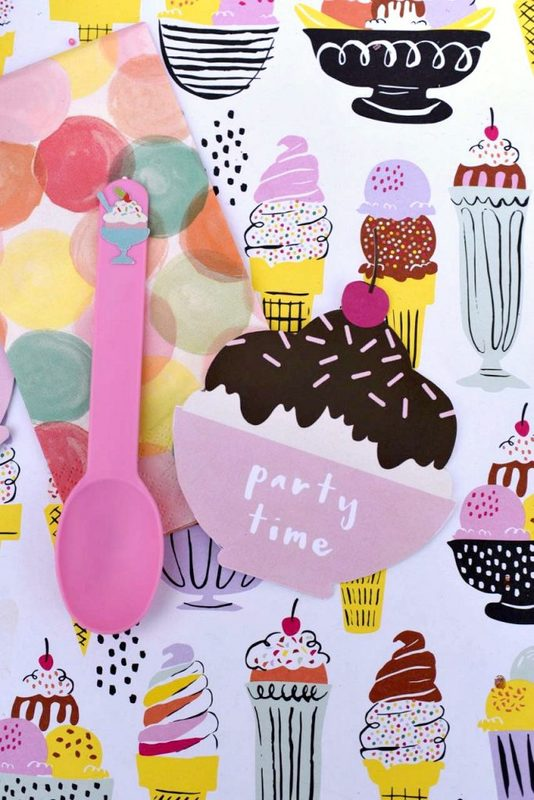 Tween ice cream party ideas and invitations