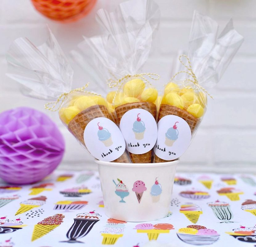 Ice cream party favors with Cricut Explore Ai