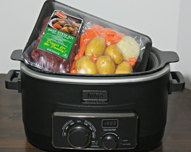 Tyson Beef Stew Kit Slow Cooker