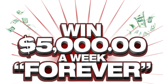 Publisher's Clearing House Forever Prize: Win $5,000 A Week Forever